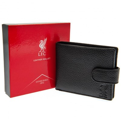 Liverpool FC Debossed Crest Leather Wallet