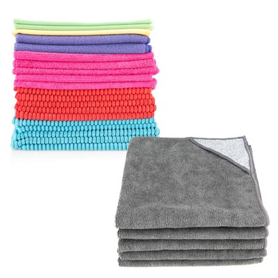 Specialist Household Mixed Cleaning Cloths - Pack of 25