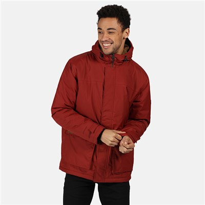 Regatta Mens Sterlings II Waterproof Insulated Hooded Jacket