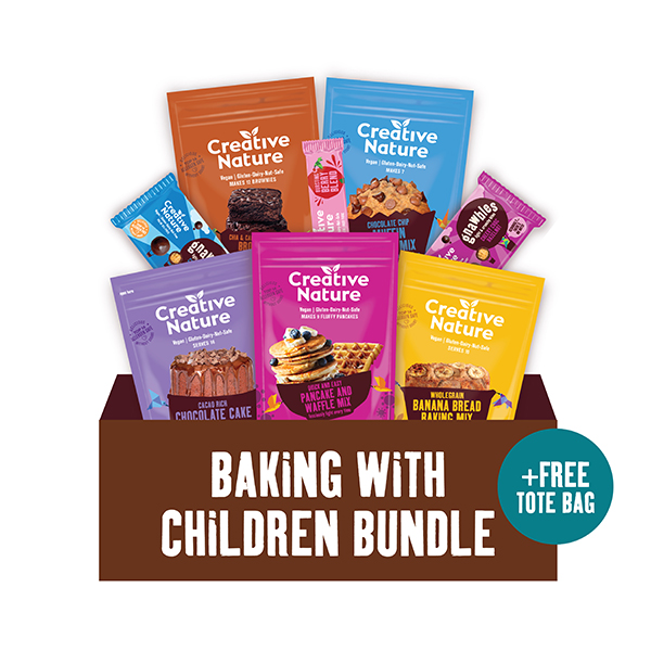 Creative Nature Baking with Children Bundle No Colour