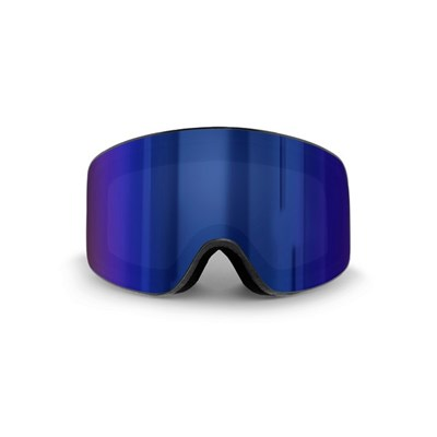 Ski Mask Etna (Black Frame and Blue Revo Lens)