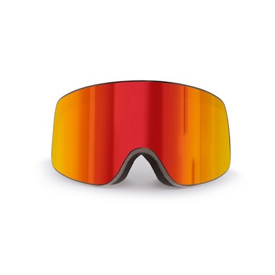 Ski Mask Parbat (Red Frame and Revo Red Lens)