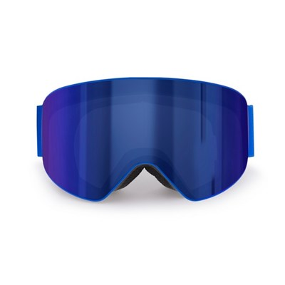 Ski Mask Eira (Blue Frame and Revo Blue Lens)