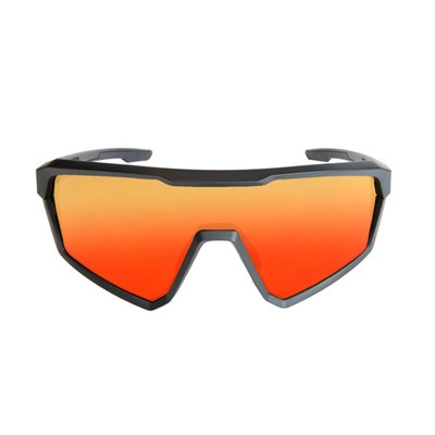 Sport Sunglasses Course (Matt Black Frame and Red Revo Lens)