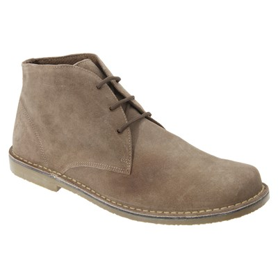 Roamers Mens Real Suede Fulfit Desert Boots