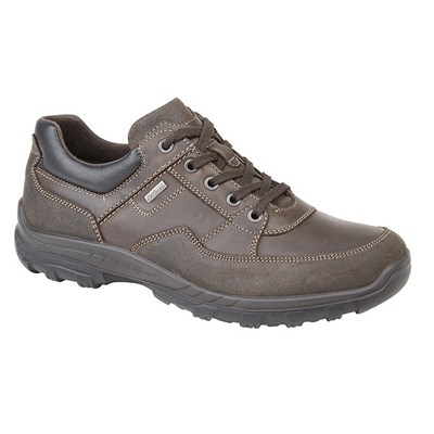 IMAC Mens Leather Water Resistant Leisure Shoes