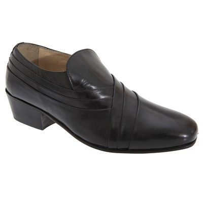Montecatini Mens Pleated Vamp Softie Leather Shoes