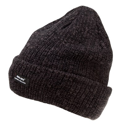 Rock Jock Mens Thermal Insulation Chunky Knit Beanie