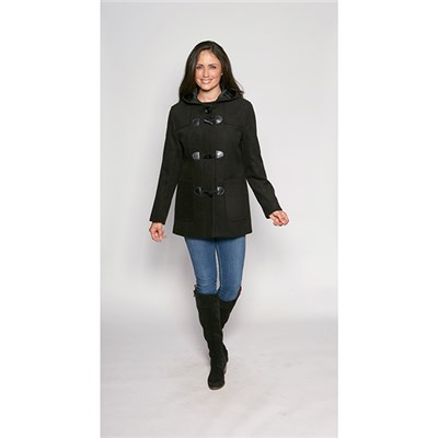 David Barry Kesta Hooded Toggle Coat