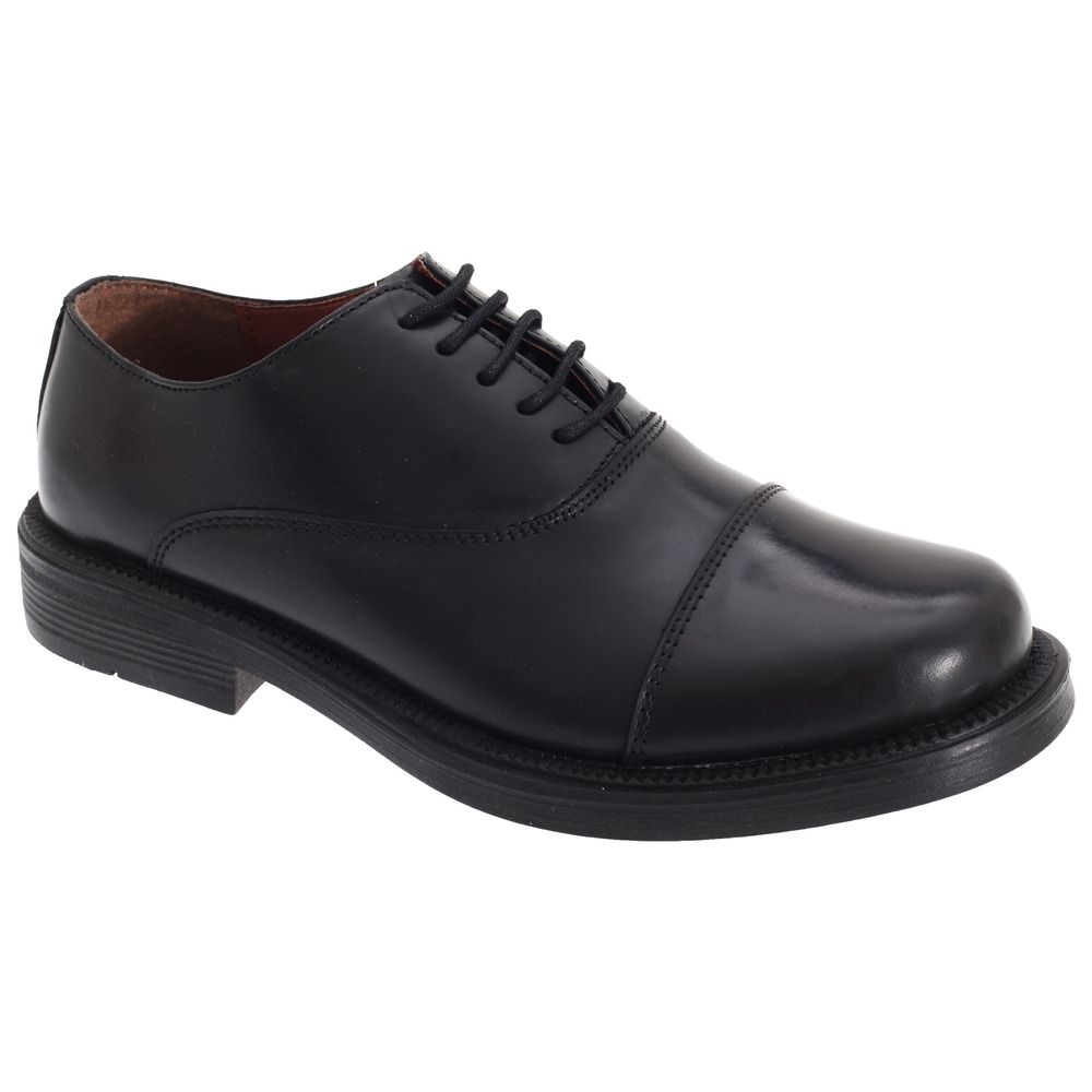 Scimitar Mens Capped Oxford Cadet Shoes