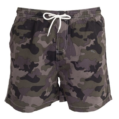 Tom Franks Mens Camo Printed Swim Shorts