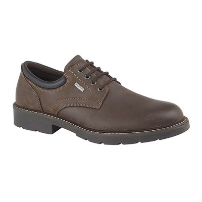 IMAC Mens Leather 4 Eye Laced Leisure Shoe