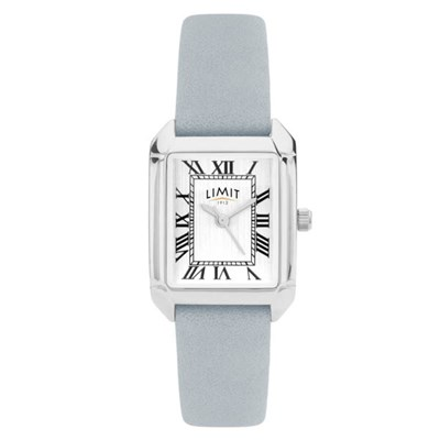 Limit Ladies Classic Square Watch with Leather Strap