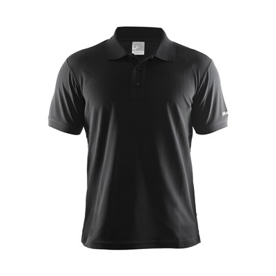 Craft Mens Classic Pique Short Sleeve Polo Shirt