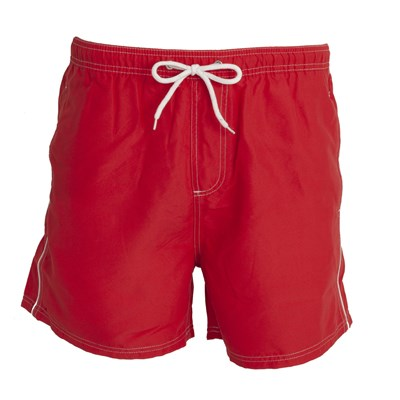 Tom Franks Mens Contrast Pipe Swim Shorts
