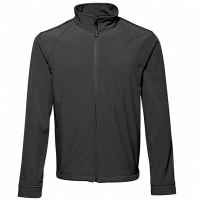 2786 Mens 3 Layer Softshell Performance Jacket (Windproof & Water Resistant)