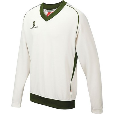 Surridge Mens Fleece Lined Sweater / Sports / Cricket
