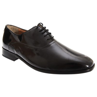 Montecatini Mens Patent Leather Oxford Dress Shoes