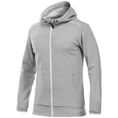 Craft Mens Leisure Athletic Full Zip Hoodie Jacket