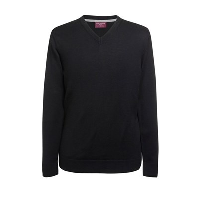 Brook Taverner Mens Boston V-Neck Jumper