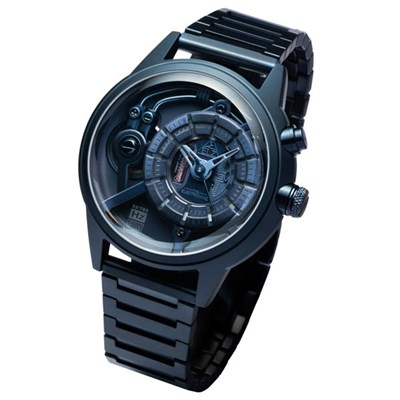 The Electricianz Electric Code Watch with Stainless Steel Bracelet