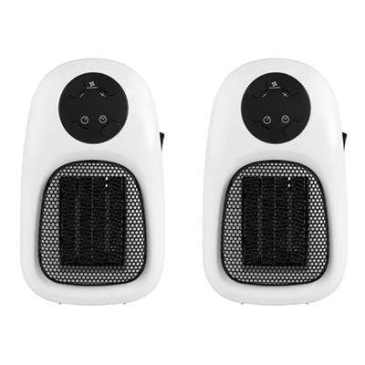 Beldray 500W Plug-In Heater with LED Display (Twin Pack)