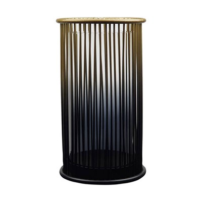 Ombre Straight Metal Candle Holder (Medium)