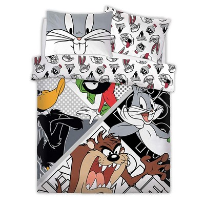 Looney Tunes Reversible Duvet Set