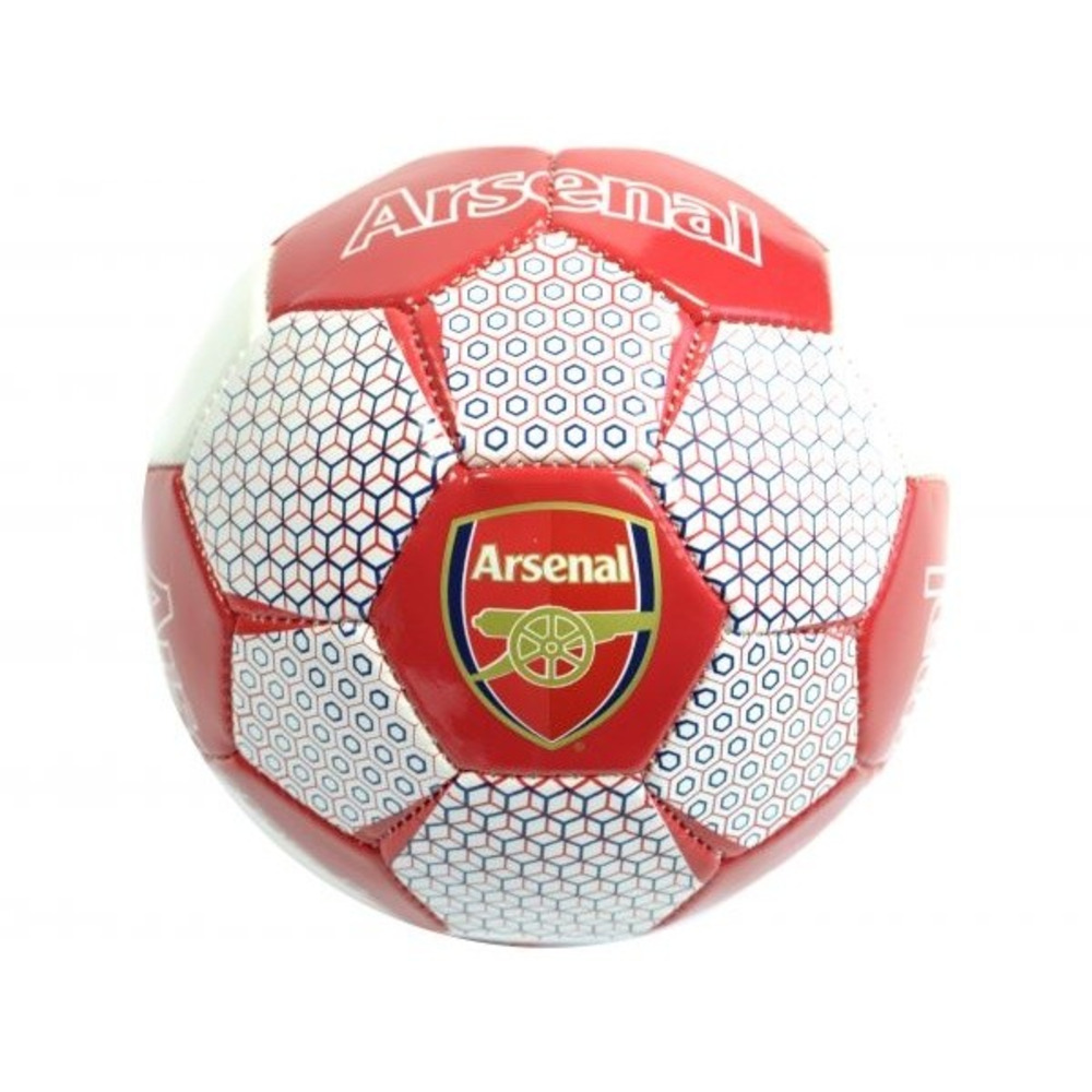 Arsenal FC Leather Vortex Mini Ball