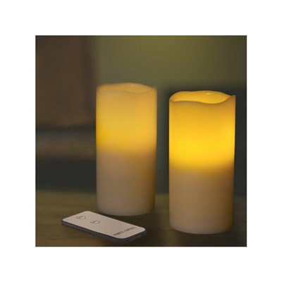 Twin LED Candles