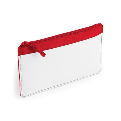 Bagbase Plain Sublimation Pencil Case (Pack of 2)