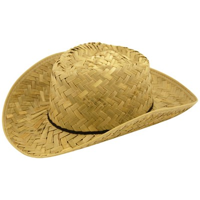 Henbrandt Adults Western Ranger Straw Hat