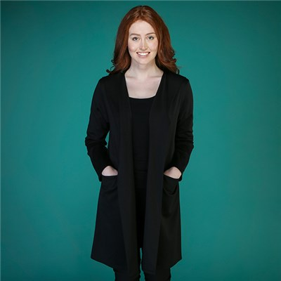 Kasara Ponte Hooded Jacket