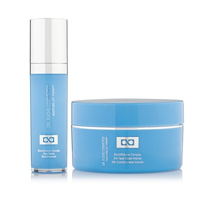 Dr Fuchs Skincare Moisture Lift Therapy BiotinPolymer Complex Facial Serum (50ml) and Complex Face Cream Intense (100ml)