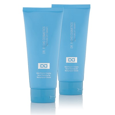 Dr Fuchs Moisture Lift Therapy BiotinPolymer Complex Facial Cleansing Gel Duo - 200ml