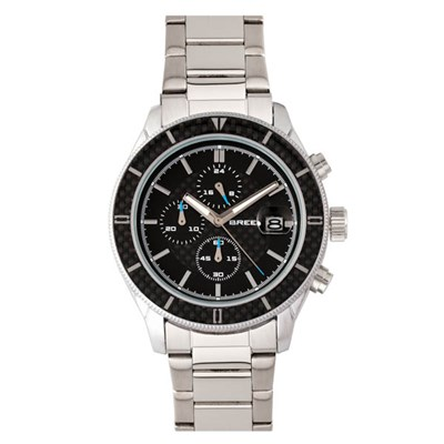 Breed Gent's Maverick Watch with Stainless Steel Bracelet