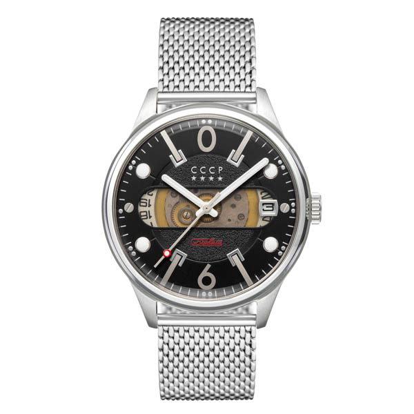 Image of CCCP Gent's Korolev Slava Automatic Watch with Milanese Bracelet