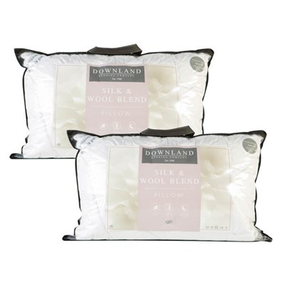 Downland Mulberry Silk & Wool T300 Surround Pillow Pair