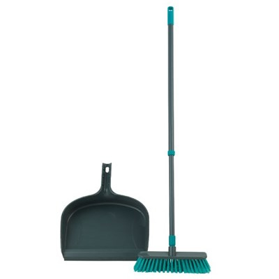 Beldray  Dustpan and Broom Set with Telescopic Handle