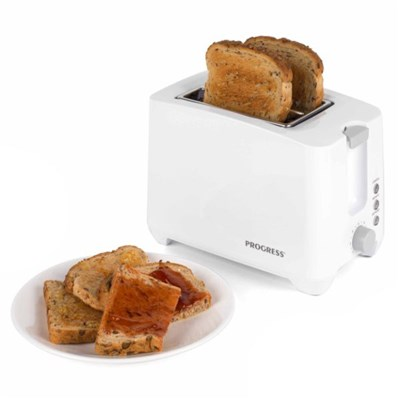 Progress EK3393P Two Slice Toaster , White