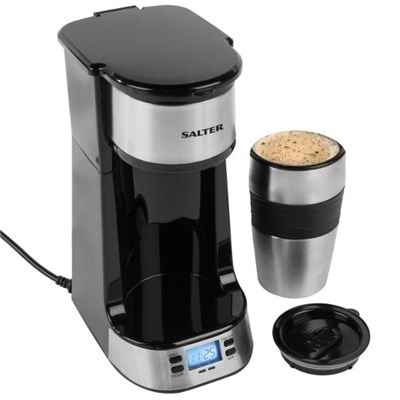 Salter EK2732 Digital Coffee Maker to Go, 420 ml