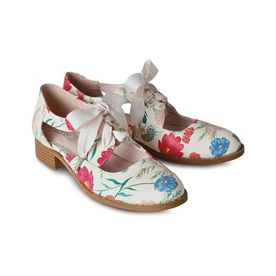 Joe Browns English Meadows Cut Out Shoes