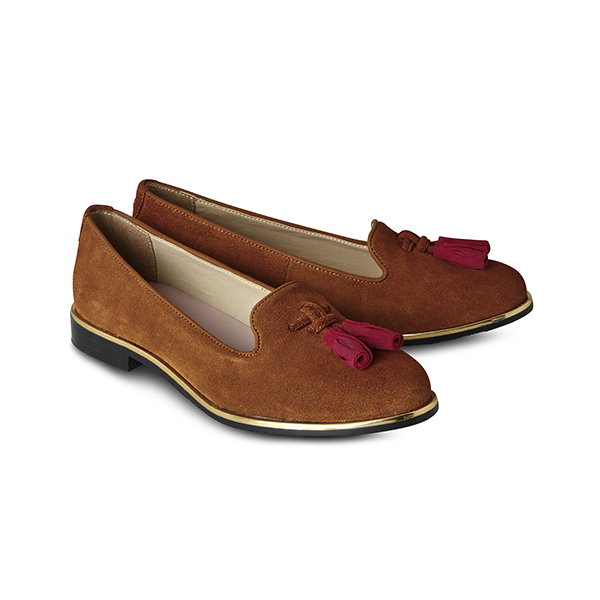 Joe Browns Manor Row Suede Loafers
