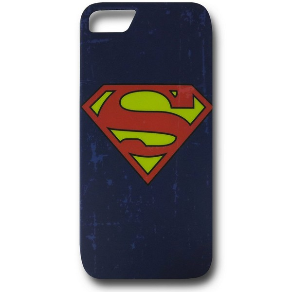 Superman Distressed Symbol iPhone 5 Case No Size No Colour