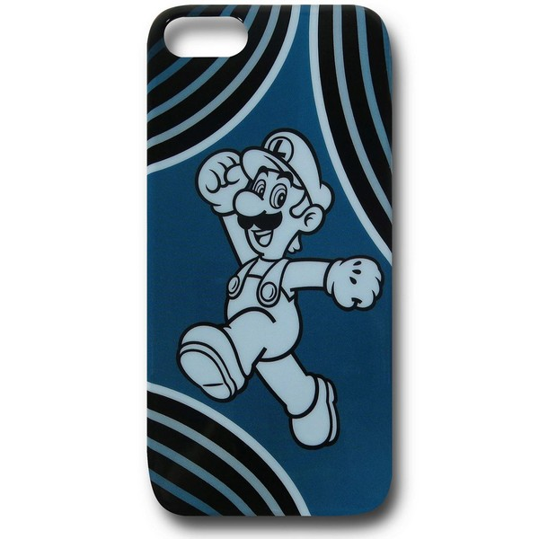 Nintendo Luigi Blue iPhone 5 Case No Size No Colour
