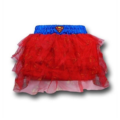 Supergirl Womens Costume Tutu