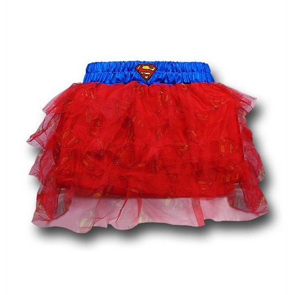 Supergirl Womens Costume Tutu No Size No Colour