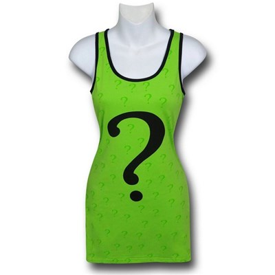 Riddler Womens Costume Tank Dress