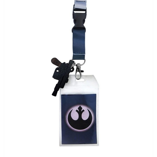 Star Wars Han Solo Hoth Lanyard with PVC Charm No Size No Colour