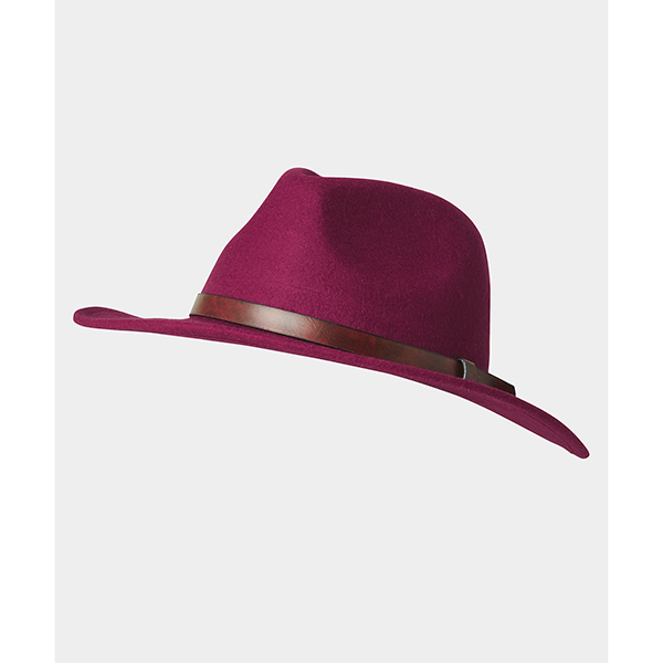 Joe Browns Chic Wool Fedora Berry